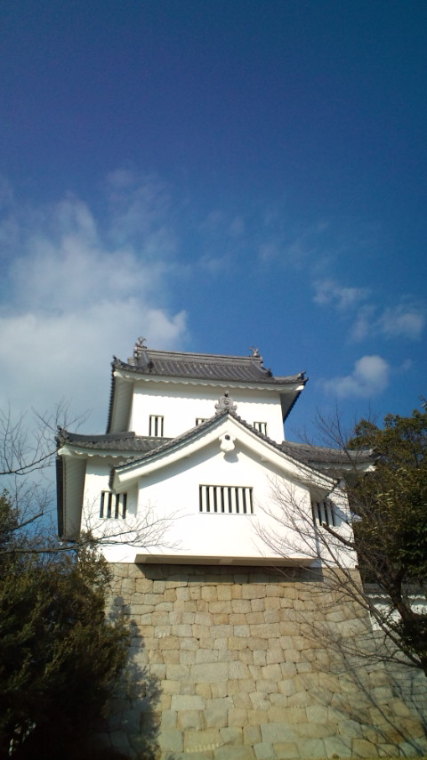 七州城(復元隅櫓)